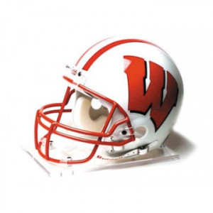 Wisconsin Badgers Riddell Full Size Authentic Proline Helmet