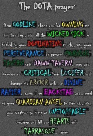quotes about dota. DOTA VS. GF