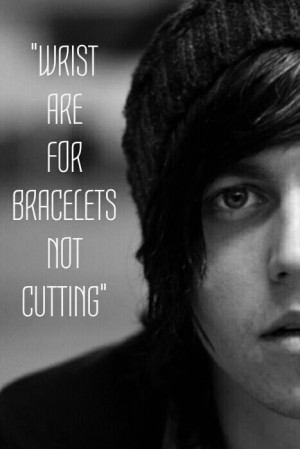 cuts on wrist quotes