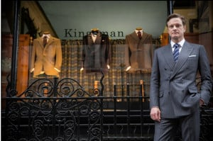 Colin Firth stars in 'Kingsman: The Secret Service.' Photo: 20th ...