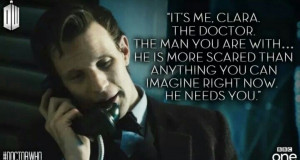 Doctor Who season 8 - Matt Smith quote