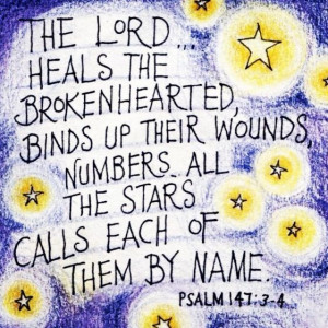 Number the Stars - my favorite psalm.