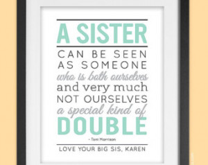 Frozen Sisters Quotes 8x10 sisters quote art