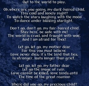 Child Death Quotes Poems