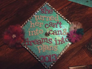 Graduation Cap Decoration Quotes Graduation cap decorated.