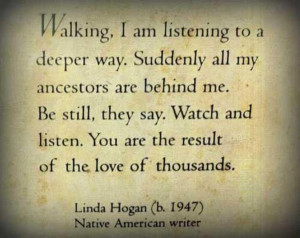Breathtaking Quote about Ancestry