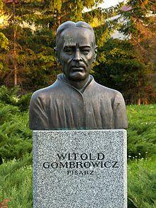 Witold Gombrowicz - popiersie