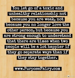 let go of toxic relationships