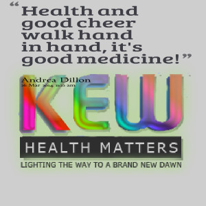 Quotes Picture: health and good cheer walk hand in hand, it's good ...