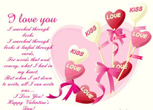 Love You Valentines Day Quote