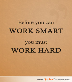 Work Smart Quotes