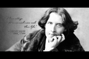 Free 1920 x 1280 Wallpaper. Quote by Oscar Wilde. Design by Sally ...