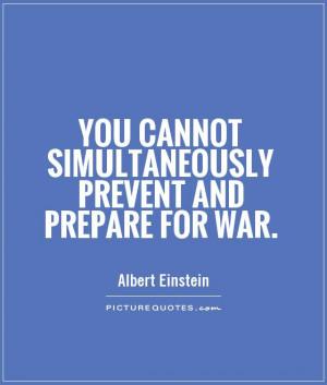 Prepare for Battle Quotes