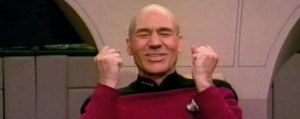 Picard Win Picard full of win