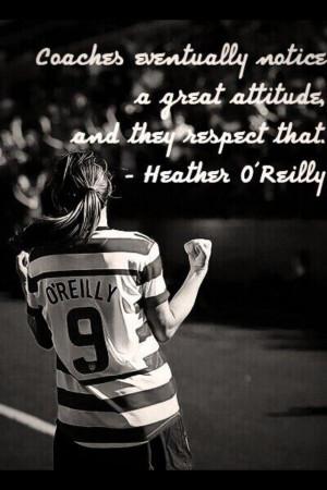 Soccer, heather o Reilly, HAO
