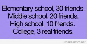Elementary school vs middle school vs high school vs college quotes ...