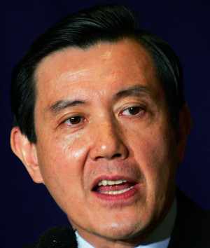 Taiwan's Nationalist Party Ma Ying-jeou speaks at the Foreign ...