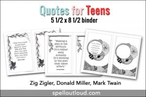 Quote Printables for Teens (3 freebies)