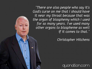 Christopher Hitchens Quotes at Quonation