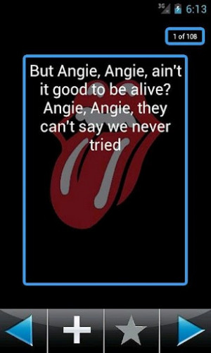 View bigger - The Rolling Stones Quotes for Android screenshot