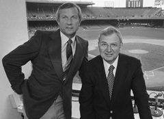 AP Photo George Kell, right, and Al Kaline were broadcast partners for ...