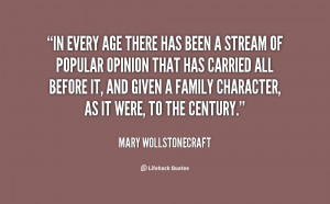 Mary Wollstonecraft Quotes