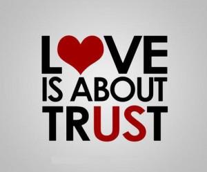 best proof of love is trust trust quote trust quotes trust