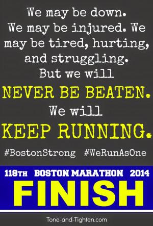 Running Marathon Motivation