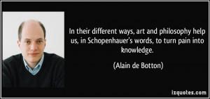 More Alain de Botton Quotes