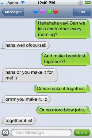 convo, couple, cute, funny, iphone, text
