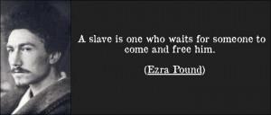 Ezra Pound quote 1