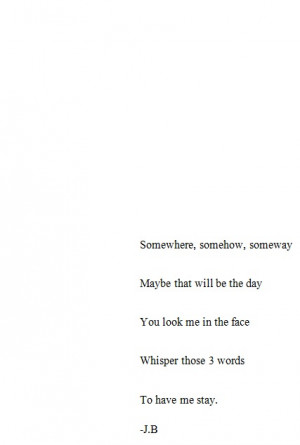 feeling poetic