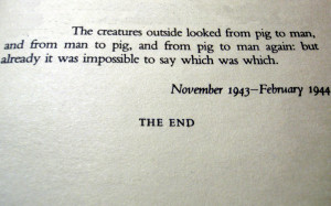 Animal Farm was a huge success, and Orwell become highly sought after ...