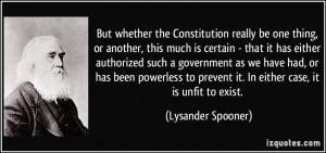 More Lysander Spooner Quotes