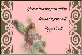 Expect Honesty from Others Demand It From Self ~ Honesty Quote