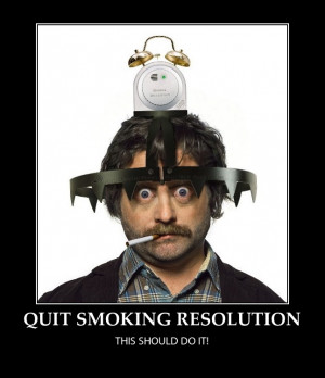 QUIT SMOKING RESOLUTION-FUNNY -HOW TO QUIT
