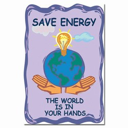 Energy Conservation Sign, Save Energy Sign, Energy Waste Sign, Energy ...