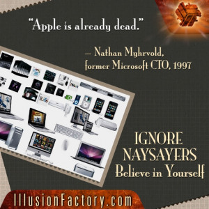 Apple is already dead.