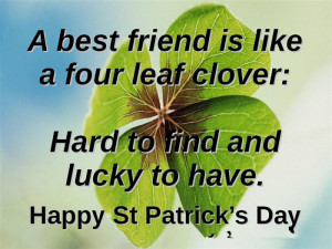 Meaningful St. Patrick's Day 2015 Quotes And Sayings