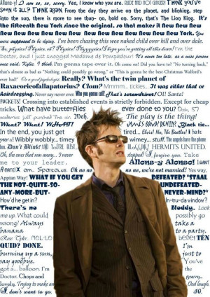 Brilliant quotes from the 10th doctor.
