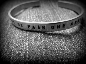 Marquis de Sade quote stamped aluminum cuff bracelet by SoNotVanilla ...