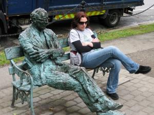 Victoria in Dublin pretending