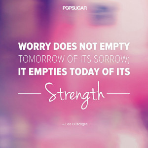 There's No Point to Worrying