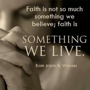 Quotes, Elder Joseph, Deseret News, Faith, Jesus Christ, Lds Quotes ...