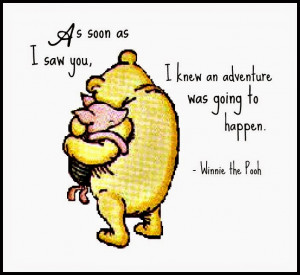 "... rather large amount of Gratitude."" A.A. Milne, Winnie the Pooh"