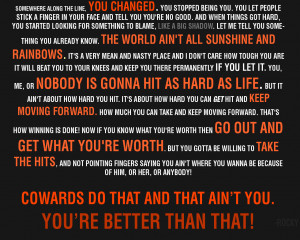 Quote From Rocky Balboa