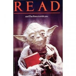Yoda Read poster from the ALA