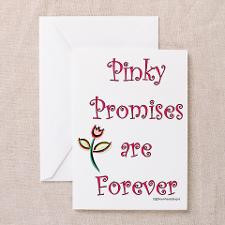 Pinky Promises Greeting Cards (Pk of 20) for