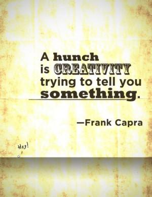 Great Frank Capra Quote