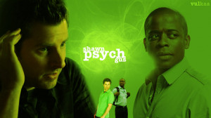 Psych Wallpaper | Shawn and Gus by Vulkaa